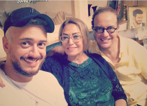 سعد لمجرد يعود  لأحضان عائلته