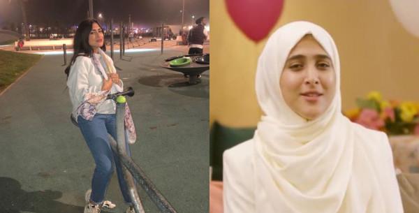 أمينة كرم نجمة طيور الجنة تتخلى عن حجابها وتهاجم زوجة مدير القناة