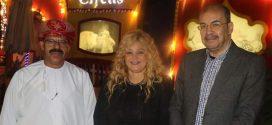 فاتن الحلو تكرم خلفان الرحبي سفير النوايا الحسنة بسلطنة عمان