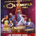 مجموعة الفناير تحتفل بعشرين سنة على تأسيسها في قلب الأولمبيا الفرنسية